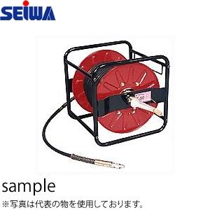 精和産業(セイワ) 高圧洗浄ホースドラム+ホース HD60-30M(9M) カプラ付【在庫有り】【あす楽】