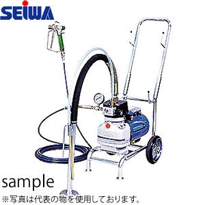 精和産業(セイワ) 電動ダイヤフラムエアレス (塗装機) スーパー60L ホース10Mセット [配送制限商品]