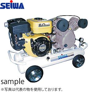 精和産業(セイワ) エスコン 3.3馬力 ガソリンエンジンコンパクトコンプレッサー SC-22GM 3.3PS 330L/min [配送制限商品]