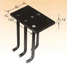 乾産業 BLアンカー3型 W3/8×12×90×150 タップ付 入数:8個