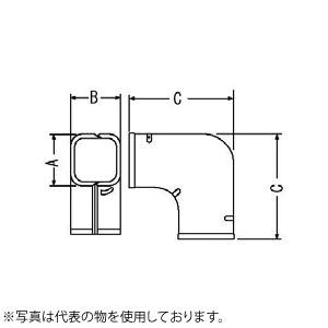 因幡電機産業 スリムコーナー平面90°SK アイボリー 販売入数:10個