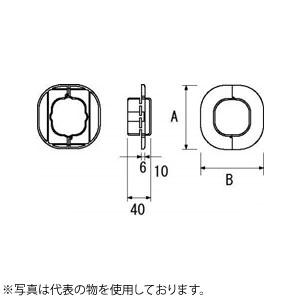 空調機器工具 因幡電機産業 スリムキャップSWC アイボリー 販売入数:100個
