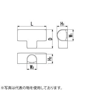 因幡電機産業 平面チーズカバーJHT アイボリー 販売入数:20本