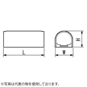 因幡電機産業 ジョイントカバーJS アイボリー 販売入数:50本