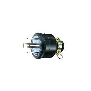 明工社 MP2533 ゴムプラグ 30A 250V 接地3P 販売入数:10個