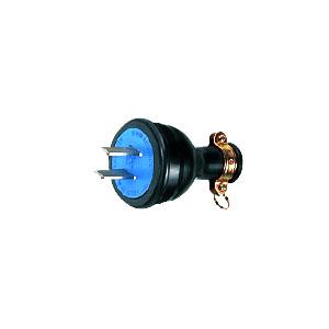 明工社 MP2514 防水プラグ 30A 250V 2P 販売入数:10個