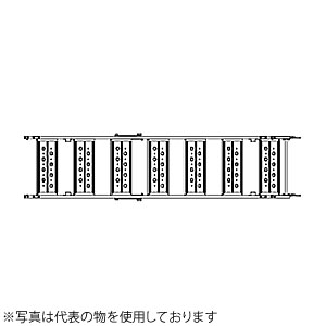 ALINCO(アルインコ) アルミ合金製法面昇降階段 クリフステアー11S ALKK38 3台セット(手摺別売) [個人宅配送不可][送料別途お見積り]