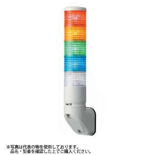 デジタル(旧アロー) LEULB-24-2 積層式LED表示灯 φ60 2段赤黄 24V 点灯 ブザー付