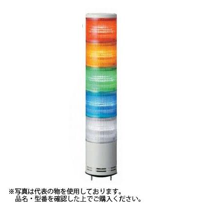 デジタル(旧アロー) UTL-24W-3 積層式LED表示灯 φ100 3段赤黄緑 24V ブザー無 (クリアグローブ)
