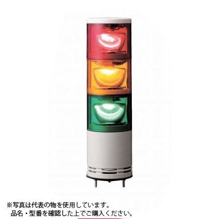 デジタル(旧アロー) UTLR-100-2 積層式パワーLED回転灯 φ100 2段赤黄 中型 110V ブザー無