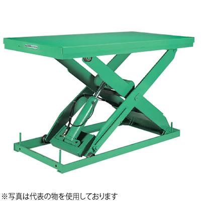 ビシャモン(スギヤス) 油圧駆動式テーブルリフト AX 1段式 AX100SH-B 最大積載能力:1000kg [送料別途お見積り]
