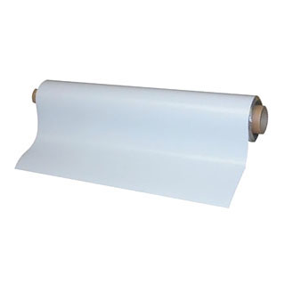 メーカー直送 厚さ0.8mm マットタイプ 日本産 ホワイトマグネットシート CMG マグネットシート白 つやなし 厚さ0.8mm×1m×5m