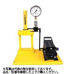 ENERPAC(エナパック) 2柱プレスセット45kN CPF5-PA133 フレーム+エア油圧ポンプ+単動シリンダ [大型・重量物]