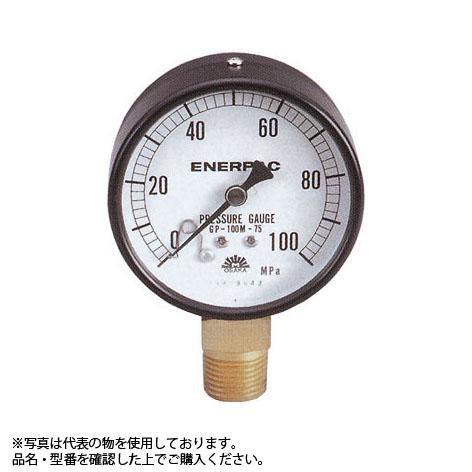 ENERPAC(エナパック) 圧力計 (35MPa 外径φ60mm NPT1/4 グリセリン入り) GP-35MG-60