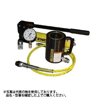 ENERPAC(エナパック) 手動ポンプ・シリンダセット (218kN×ST50mm) P392AL-RAC202 [大型・重量物]