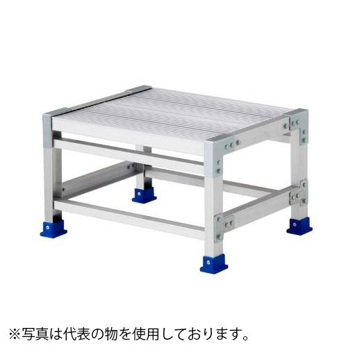 長谷川工業 アルミ組立式作業台 ライトステップ DB2.0-1-4M [配送制限商品]