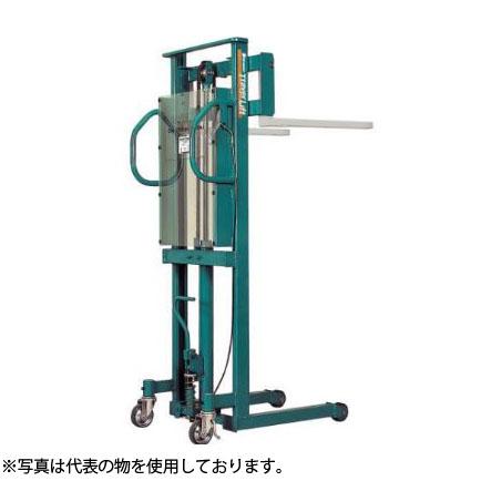 ビシャモン(スギヤス) 手動油圧式トラバーリフト (早送り装置付) ST25H 最大積載能力:250kg [配送制限商品]