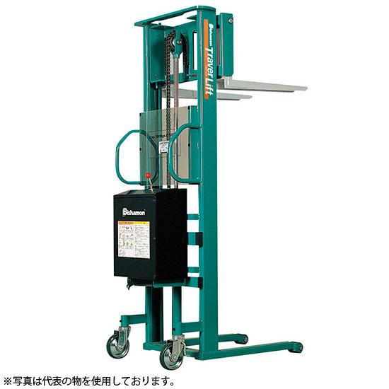 ビシャモン(スギヤス) バッテリー昇降式トラバーリフト ST50E 最大積載能力:500kg [送料別途お見積り]