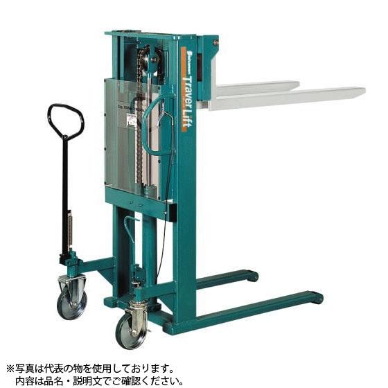 割引購入 ビシャモン(スギヤス) 手動油圧式トラバーリフト STL50 最大積載能力:500kg [配送制限商品]:セミプロDIY店ファースト-DIY・工具