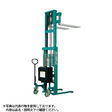 ビシャモン(スギヤス) バッテリー昇降式トラバーリフト STW50E 最大積載能力:500kg [送料別途お見積り]