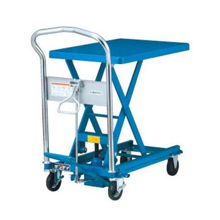 花岡車輌 UDL-150 スチール製足踏式リフトテーブル ダンディリフト [配送制限商品]・代金引換不可