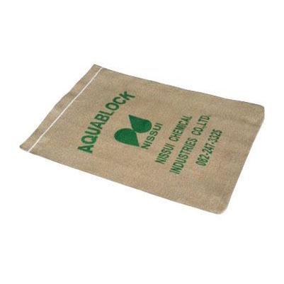日水化学工業 NSD-10 吸水性土のう アクアブロック 420×300mm (海水対応 再利用不可能品) 販売入数:15枚