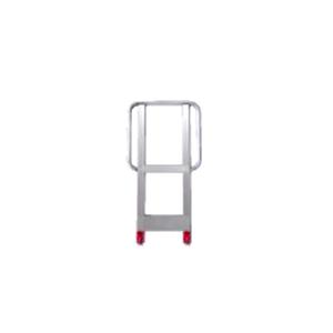長谷川工業 アルミ可搬式作業台 ダイバキング用 手すり S型 [個人宅配送不可]