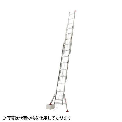 長谷川工業 アルミ製 スタビライザー脚部伸縮式 3連はしご LSS3 1.0-70 [個人宅配送不可]
