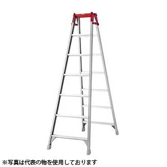 長谷川工業 アルミ製 はしご兼用脚立 RA-21 [個人宅配送不可]