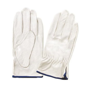 富士グローブ 皮手袋 豚皮手首シボリ EX-235 LLサイズ[5970] 1箱120双セット