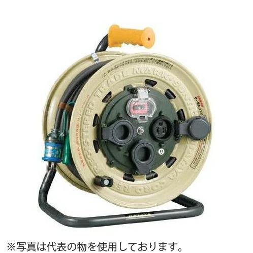 ハタヤ サンタイガーレインボーリール BX-501K 50mコードリール 防雨型 過負荷兼用漏電遮断器・温度センサー・接地付