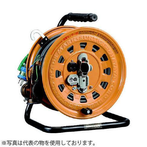 ハタヤ マルチテモートリール GBM-130K 27mコードリール 防雨型 過負荷兼用漏電遮断器・温度センサー・接地付