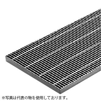 カネソウ スチール製グレーチング T14-QSB-14038-P12.5 ピッチ12.5mm (本体のみ) ※受枠別売り T-14仕様 細目プレーン P12.5×400×997×38 横断溝・側溝用
