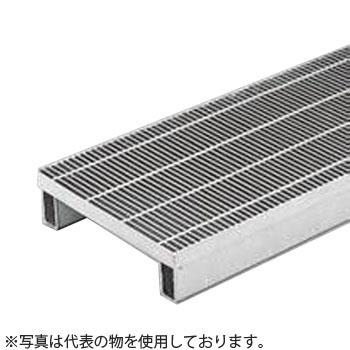 カネソウ スチール製グレーチング プレーンタイプ かさあげ型 側溝用 390×995×38/100 :T6-HSY-3938B