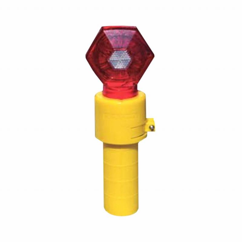 在庫有り LED保安灯 警告灯 キタムラ産業 LED赤6個 再販ご予約限定送料無料 KSF-6ABC1 開催中 単一乾電池式セフティフラッシュ