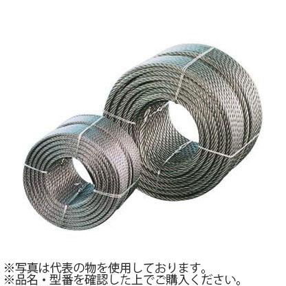 コンドーテック JISワイヤロープ メッキ G/O (6×24) 22×200m