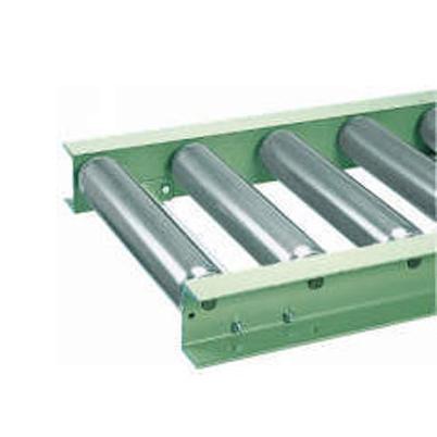 メイキコウ φ76.3スチール製ローラコンベヤ 重荷重用 ストレート 防塵仕様 FHH76R-WS-W400-P300-L1000 ローラ幅400×ピッチ300×機長1000  [送料別途お見積り]