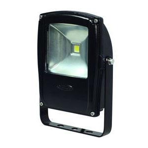 日動工業 LEDライト フラットライト LEN-F10D-BK (黒) 10W 昼白色 5000K