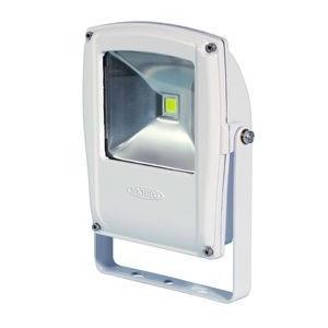 日動工業 LEDライト フラットライト LEN-F10D-W-S (白) 10W 電球色 2500K