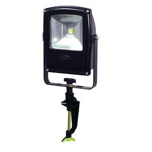 日動工業 LEDライト フラットライト LEN-F10V-BK-S (黒) 10W 電球色 バイス付 2500K