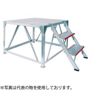 ナカオ(NAKAO) アルミ製ステージ 号令台 TSB-102 [個人宅配送不可]