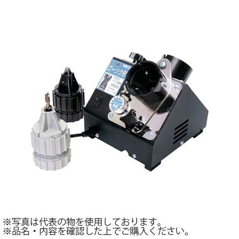 ニシガキ ドリル研磨機 ドリ研ローソク形ハイス鋼用研磨機 N-872 Aチャック+Bチャック・研磨角度(先端角186度)