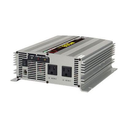 日動工業 正弦波インバーター R-A600N-A (DC12V⇒AC100V/50Hz) MAX600W出力