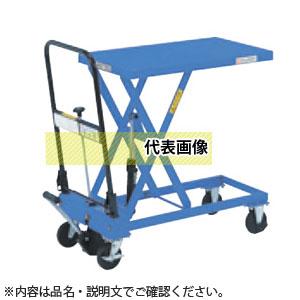 をくだ屋技研(O.P.K) 手動式リフトテーブル キャデ LTX-H100-6 [配送制限商品]