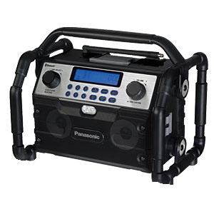 パナソニック 工事用充電ラジオ&ワイヤレススピーカー 14.4V/18V兼用 EZ37A2 本体のみ(電池・充電器別売り)