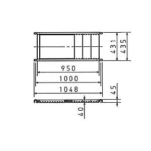 ピカ(Pica) オプション ハッスルタワー用部材 床付き布わく ATL-TO [配送制限商品]