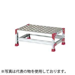 ピカ(Pica) アルミ作業台(踏面:縞板) ZG-1625P [配送制限商品]
