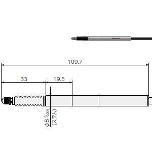 楽天市場】マグネスケール DK812SBR デジタルゲージ(高分解能タイプ)ジ ...