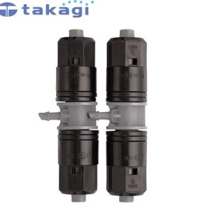 在庫有り タカギ takagi 園芸散水用品 自動水やり器 水やりパーツ取り付け部分に必要なパーツ 9mmホースから4mmホースを分岐 4mm分岐 散水接続パーツ 代引き不可 ギフト GKJ106 9mmジョイント 簡単水やりシステム