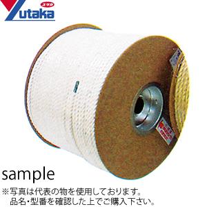 ユタカメイク 綿ドラム巻ロープ RC-10 φ6mm×200m :YM3896